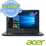 Acer E5-575G-51CZ 15.6吋 i5-6200U 雙核 2G獨顯 FHD Win10筆電-送acer保溫杯+七巧包+記憶地墊