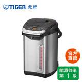 【日本製】TIGER虎牌無蒸氣雙模式出水VE節能4.0L真空熱水瓶(PIG-A40R-KX)買就送虎牌280cc桌上型保溫杯(隨機出貨)