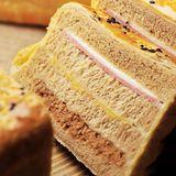 【法藍四季】全麥素肉鬆三明治