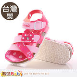 魔法Baby~女童涼鞋 台灣製迪士尼米妮正版童鞋 sh9646