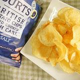 【BURTS】英國波滋手作洋芋片-經典海鹽150g