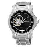 SEIKO 精工 24小時顯示開芯系列機械腕錶/41mm/4R39-00P0D(SSA321J1)