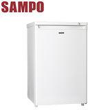 [促銷]SAMPO聲寶 87L直立式冷凍櫃(SRF-90S)