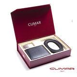 CUMAR 皮帶皮夾禮盒組 0596-169-01-11