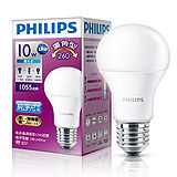 飛利浦LED廣角燈泡-白光(10W)