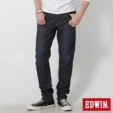 EDWIN 迦績褲 AB牛仔保溫褲-男-原藍磨