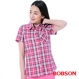 BOBSON 女款搭配蕾絲布襯衫 (25136-13)