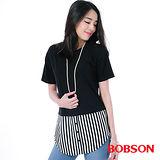 BOBSON 女款仿兩件式上衣(26096-88)