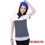 BOBSON 女款仿兩件式上衣(26103-53)