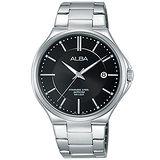 ALBA雅柏 簡約生活時尚男用不鏽鋼腕錶/40mm/VJ42-X184D