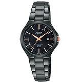 ALBA雅柏 品味生活時尚女用不鏽鋼腕錶/28mm/VJ22-X226K