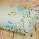 【鴻宇HongYew】100%美國棉 台灣製 300織夏日涼被- 花舞飛蔓