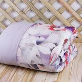 【鴻宇HongYew】100%美國棉 台灣製 300織夏日涼被- 迷幻渲染