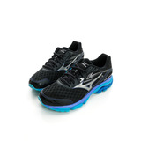 MIZUNO (男) 支撐型超寬楦慢跑鞋 黑/銀J1GC164552