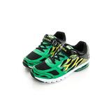 DIADORA (童)氣墊慢跑鞋 黑綠黃DA6AKR3025