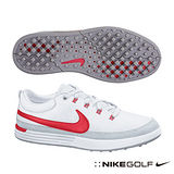 Nike Golf LUNAR WAVERLY 男高爾夫球鞋(白)652781-100