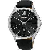 SEIKO 城市簡約美學時尚腕錶-黑/42mm 7N42-0GG0N(SGEH53P2)