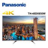 Panasonic國際 40吋 4K UHD LED液晶電視 TH-40DX650W