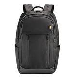 【SUMDEX】PON-161 BK黑色 雨盾商務肩背後背包(16吋+iPad平板)