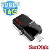【Sandisk】SDDD2 Ultra OTG3.0 16G 隨身碟