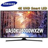 Samsung三星 50吋4K UHD Smart LED液晶電視(UA50KU6000WXZW)*送雙星14吋立扇+32G隨身碟+HDMI線