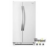Whirlpool惠而浦 640L冰白色門板 對開門電冰箱 WRS322FNAH 送安裝