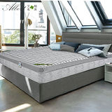 【Albert】艾柏 正三線銀奈米乳膠涼感5尺雙人環保獨立筒床墊(5x6.2尺)