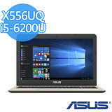 ASUS 華碩 X556UQ i5-6200U 15.6吋FHD 4G記憶體 1TB NV 940MX 2G獨顯效能筆電 (金/藍色)-【送4G記憶體(需自行安裝)+USB散熱墊+精美滑鼠墊】