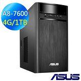 【ASUS】 M32BF-0021A【勁戰夜鷹】 (A8-7600/4G/1TB/GT720/Win10) 電腦 (M32BF-0021A760GTT)