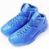 nike 男 NIKE HYPERDUNK 08 籃球鞋 藍 - 820321400