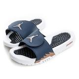 NIKE (男) 拖鞋 深藍白555501408