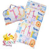 Sunnybaby 冬夏兩用兒童睡袋 快樂森林動物 星空藍 0