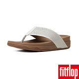 FitFlop™ (男款)SURFER™ PERF LEATHER-都會白