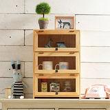 [自然行] 原木兒童家具 原木模型展示櫃(扁柏自然色/安全環保塗裝)