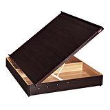 《顛覆設計》極簡風格6x7尺雙人特大側掀床-330磅數+安全裝置(四色可選)