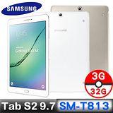 Samsung 三星Galaxy Tab S2 9.7 WiFi T813 9.7吋 3G/32GB 【9H鋼化貼+專送皮套+耳機】