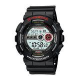 CASIO 卡西歐 G-SHOCK 行動任務運動潮流腕錶/51.2mm/ GD-100-1A