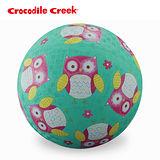 【美國Crocodile Creek】7吋兒童運動遊戲球-親親貓頭鷹