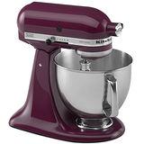 【美國原裝 KitchenAid】4.73L抬頭式攪拌機KSM150PSBY 紫色