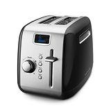 【KitchenAid】 2片二槽下壓式烤麵包機 KMT222OB (黑)