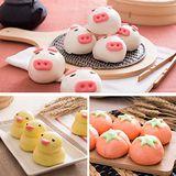 【禎祥食品】可愛造型甜包小豬/小鴨/蕃茄/小熊/小鳥(共3包30粒)