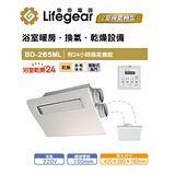 樂奇 BD-265ML浴室暖風乾燥機 線控面板
