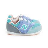 New Balance (童) 經典復古鞋 藍綠灰 FS996MGI