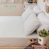 DUYAN《雲想天際》天然嚴選純棉雙人三件式床包組