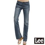 Lee 413 Bliss 超低腰合身靴型牛仔褲 -女款(中漂藍)