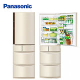 Panasonic 國際牌 430公升 日本進口系列智慧節能 五門冰箱 NR-E430VT
