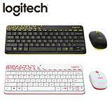 Logitech 羅技 MK240 Nano 無線鍵鼠組 黑色- 黃邊 / 白色- 紅邊