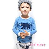 【Pink Pony】韓國vaenait長袖家居服-北極熊