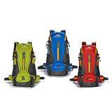 【JINSHIWEIQI】45L(附雨套)輕羽專業網架背包/登山包FK328(GN綠色/BU藍色/RD紅色)