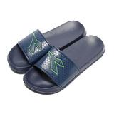 (男) DIADORA 輕量運動套式拖鞋 深藍 鞋全家福